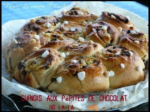 """ღ """" Miam """" Chinois aux Pépites de Chocolat Ho la la ..."""