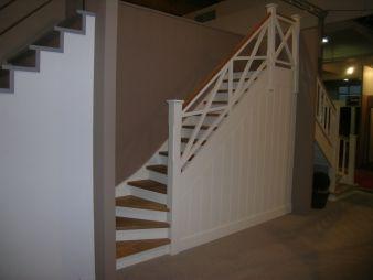 Choix de notre escalier style cottage la d co de cindou for Idee deco entree avec escalier