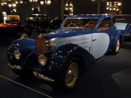 bugatti type 57 coach 1937 Musee National de l'Automobile de Mulhouse collection Schlumpf 1