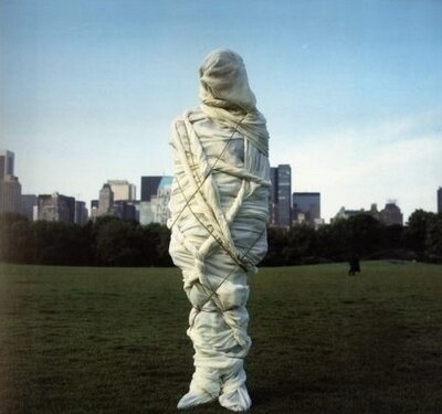 christo wrapped