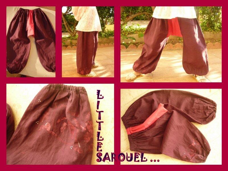 Sarouel Long violet