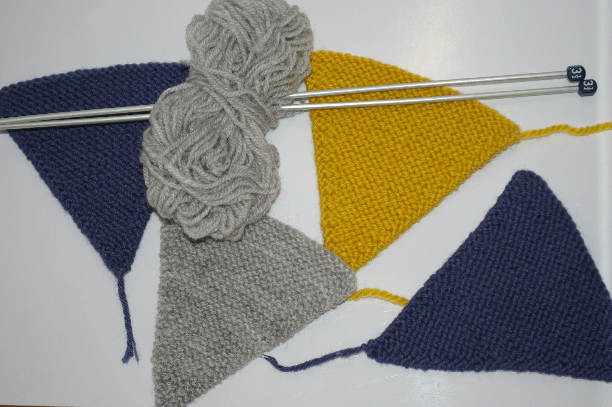 guirlande noel tricot