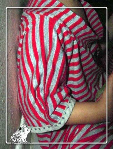 pyjama-rayé