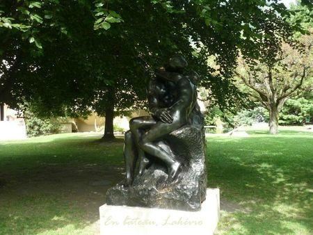 Martigny Gianadda Rodin Le baiser