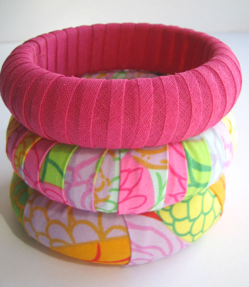 Wrapped Bangles