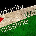 Non à l'agression militaire israélienne contre gaza