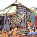 mongols à l'oeuvre