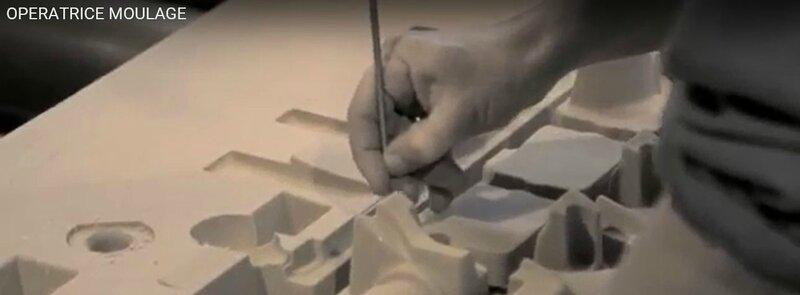 operateur de moulage en fonderie aluminium