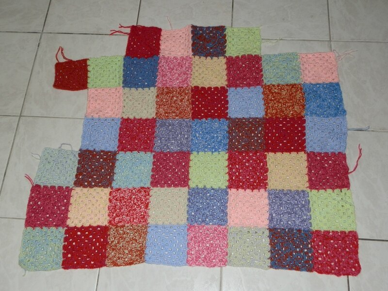 Plaid Granny square