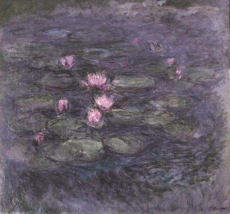 Monet Nympheas c