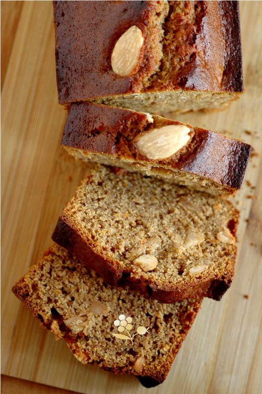 Cake épicé aux amandes, noisettes & farine de souchet_5