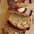 Cake ou pain d'epices, aux amandes, noisettes, farine de souchet & orange