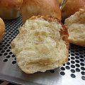 Briochettes moelleuses sans œuf ni beurre
