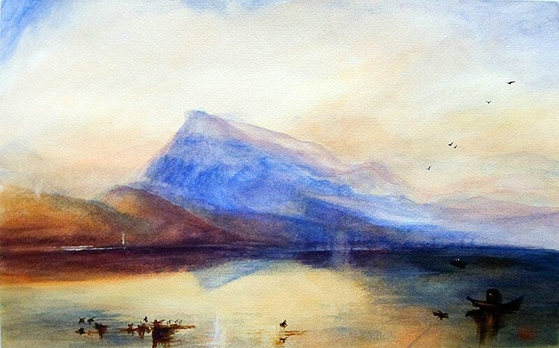 AnaPardo-Copia-Le-lac-de-Lucerne-by-Turner