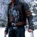 Wolverine/Hugh Jackman sous la neige