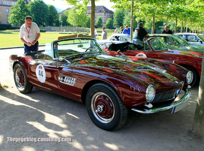 Bmw 507 convertible de 1957 (254ex)(Paul Pietsch Classic 2014) 01