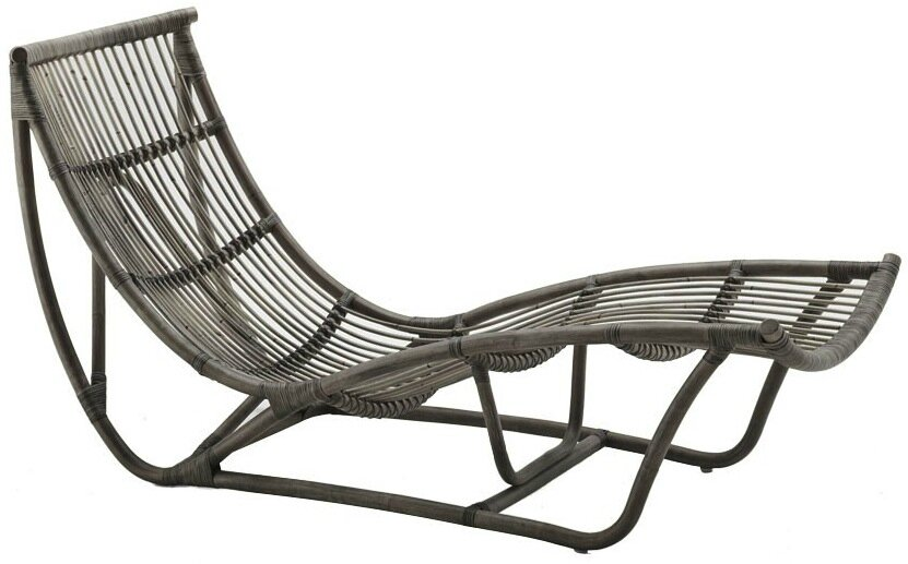 Chaise longue rotin michel ange sika design le blog de for Chaise longue rotin