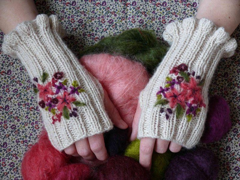mitaines fleuries2