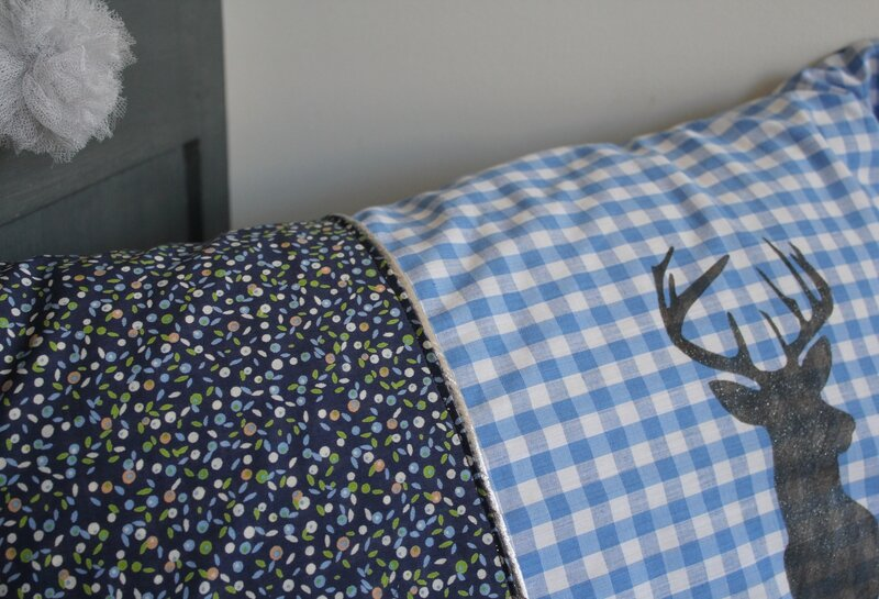 Coussin cerf 1