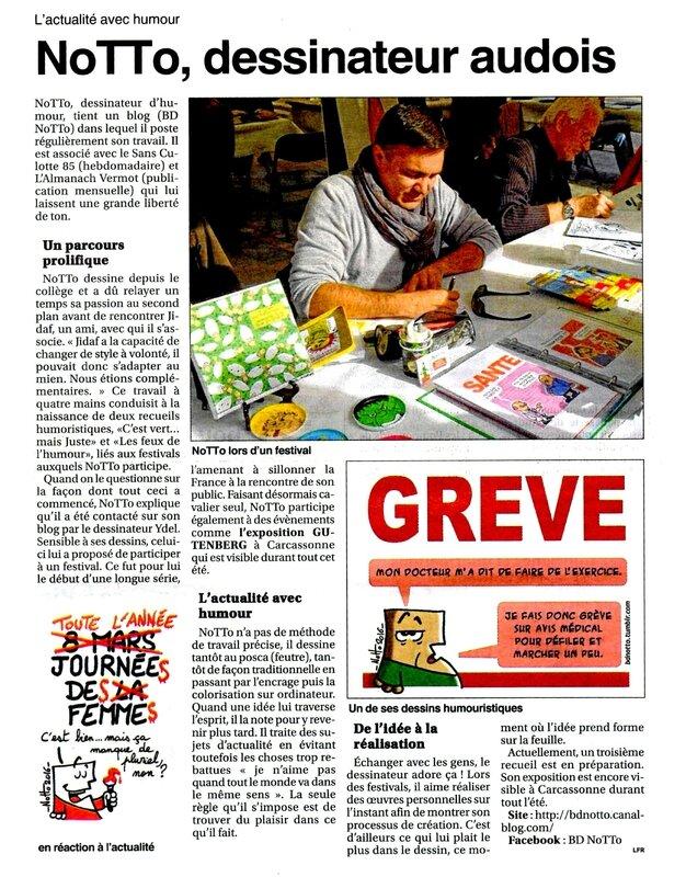 06 - 2016 - Expo GUT - Article LE PETIT JOURNAL 02