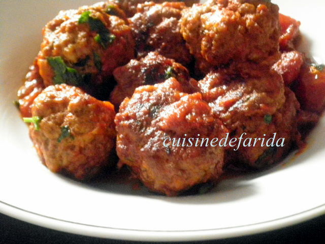 recettes boulettes de viande italienne. Black Bedroom Furniture Sets. Home Design Ideas