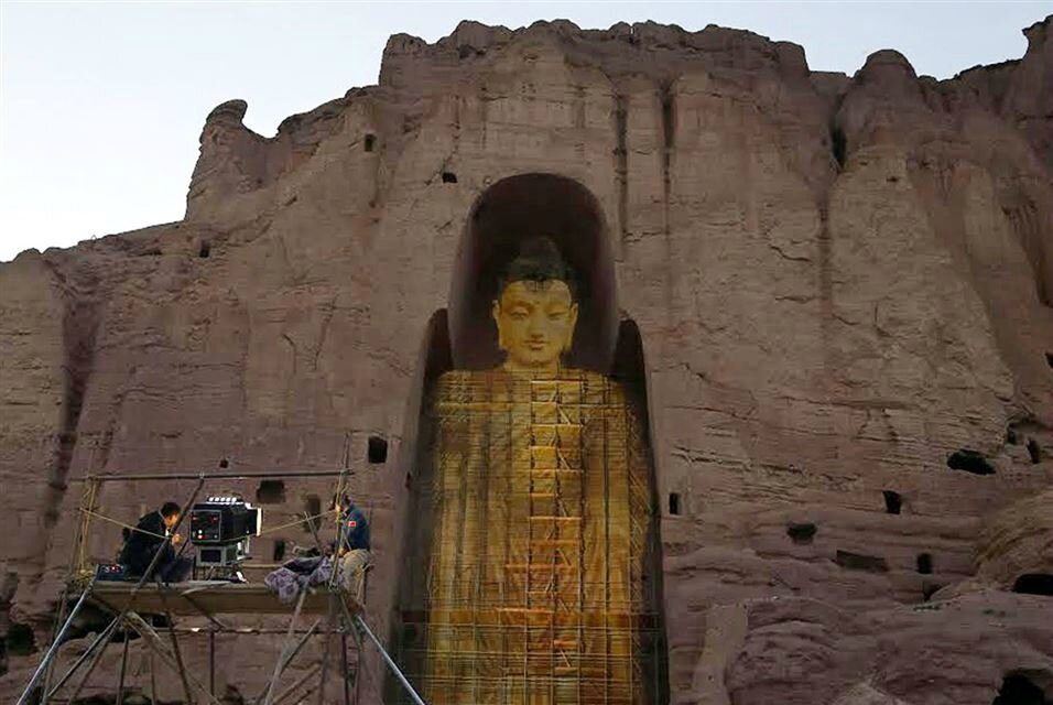 BAMIYAN.- This photo taken on June 7, 2015 shows