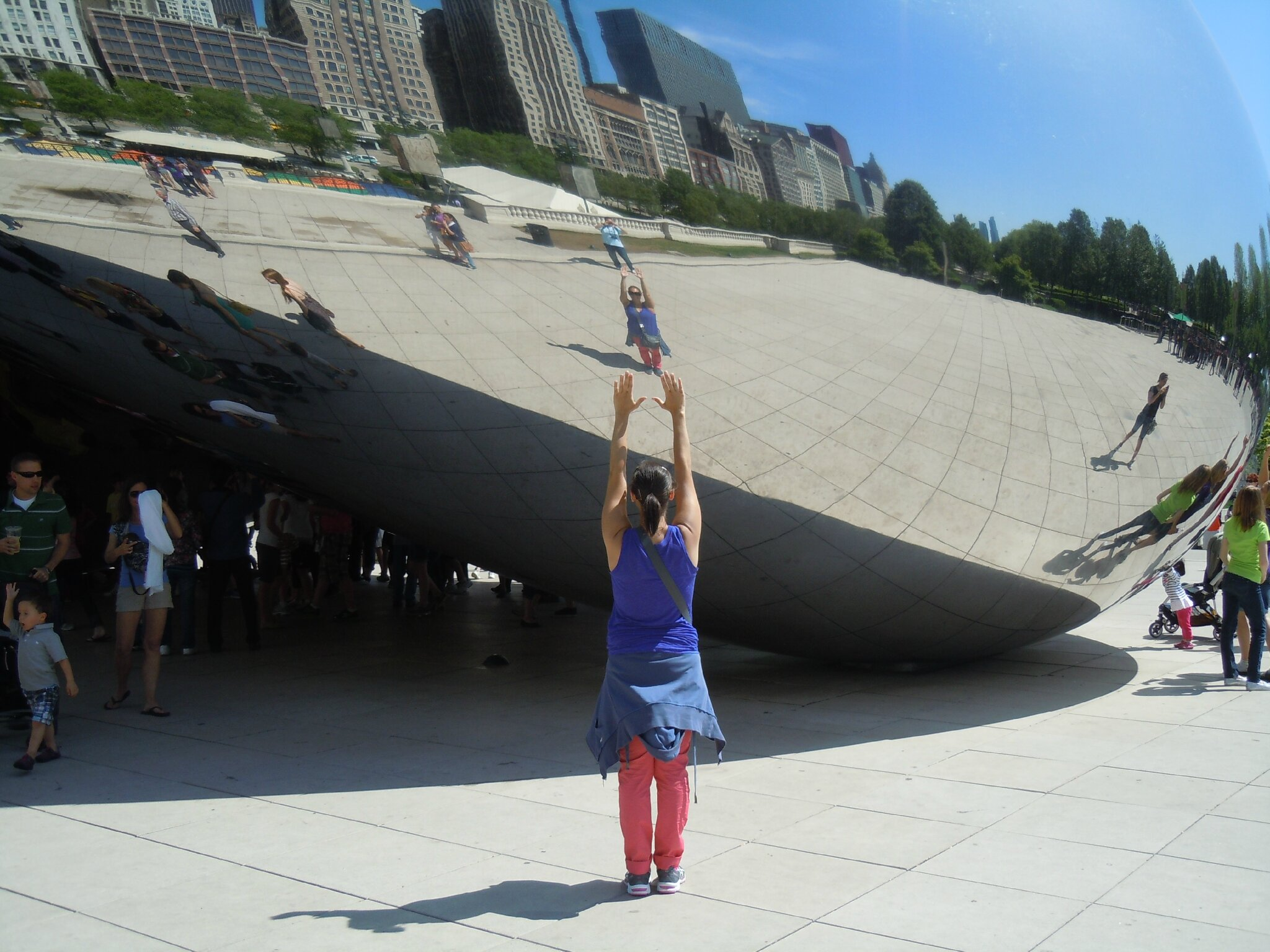 Cloud Gate Grant Park Chicago