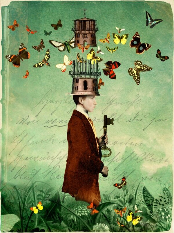 Catrin Welz-Stein - German Surrealist Graphic Designer - Tutt'Art@ (35)