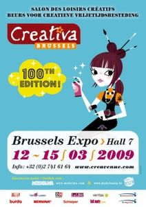CreativaBrussels2009_Affiche