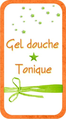 Gel douche Tonique