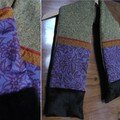 écharpe tricot 1
