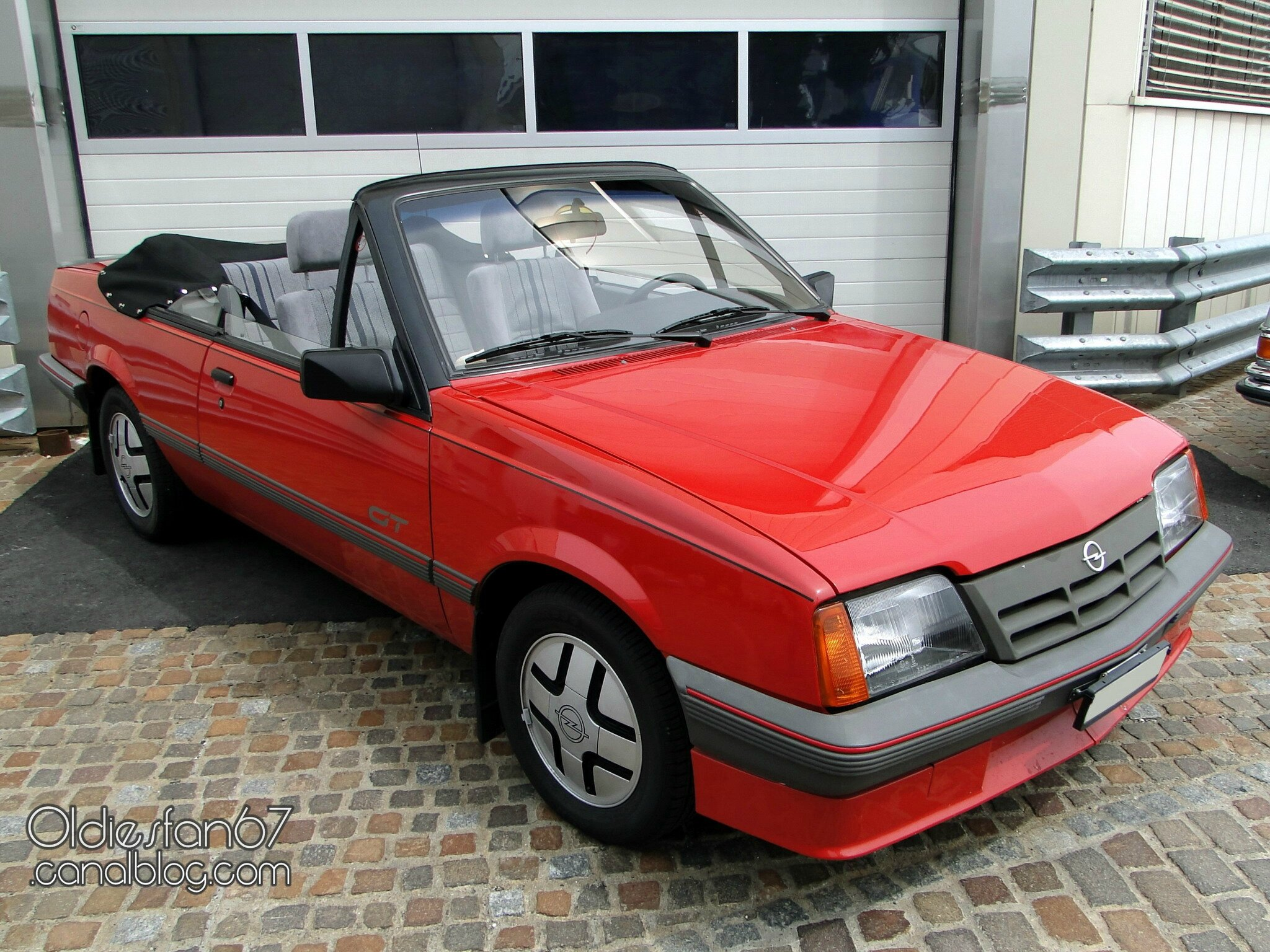 opel ascona c cabriolet by voll 1986 oldiesfan67 mon blog auto. Black Bedroom Furniture Sets. Home Design Ideas