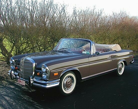 mercedes benz 300 se cabriolet 1965 alain r truong. Black Bedroom Furniture Sets. Home Design Ideas