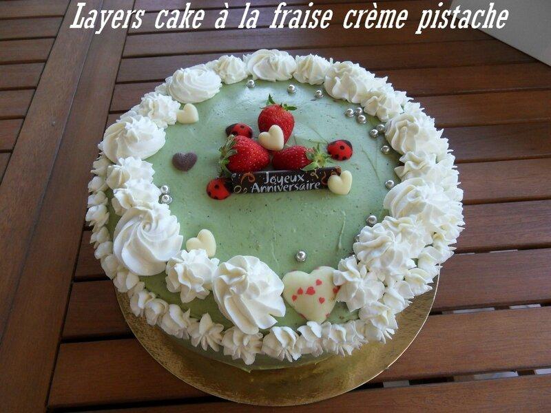 Layers cake fraise pistache1