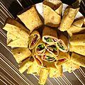Wraps saumon de Camille