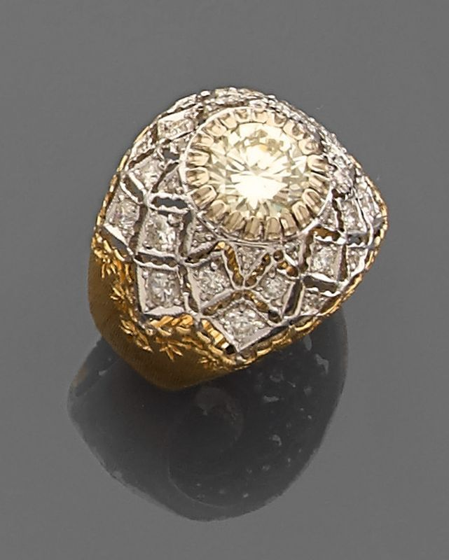 buccellati bague homme