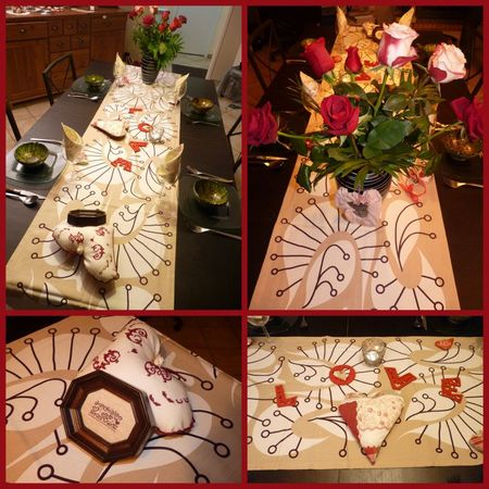 deco table st val