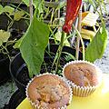 Ronde interblogs - les muffins pommes-poires-cannelle de bree