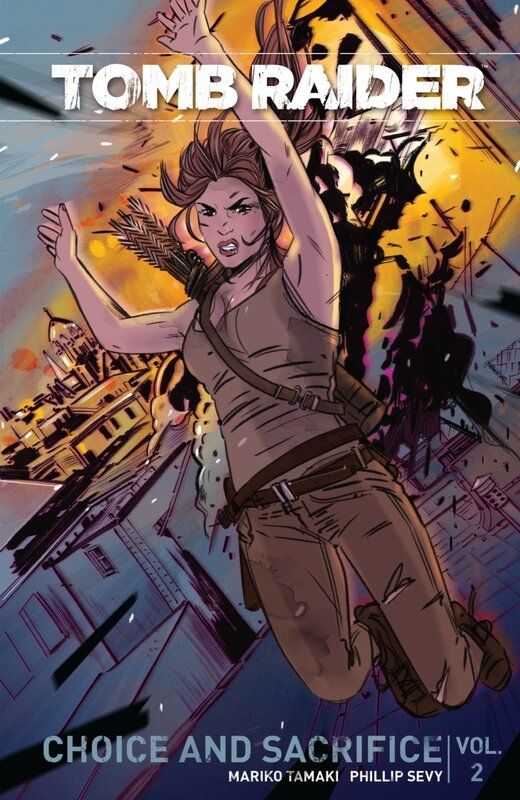 dark horse tomb raider vol 02 choice and sacrifice TP