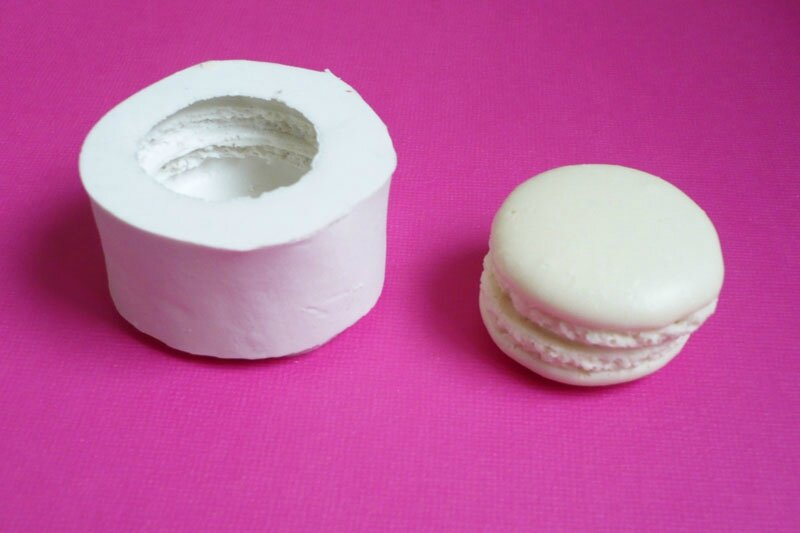 moule silicone macaron gourmandise