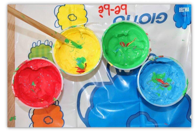 8 Giotto peinture doigt activité enfant kids ambassadrice loisirs créatif tableau art créativité imagination lavable à l'eau bbtma blog parents famille