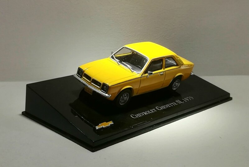 Chevrolet chevette de 1979 (collection presse) 01