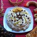 Pavlova!!! cardamome-pistache-citron, en hommage à anna pavlova et au bharathanatyam!