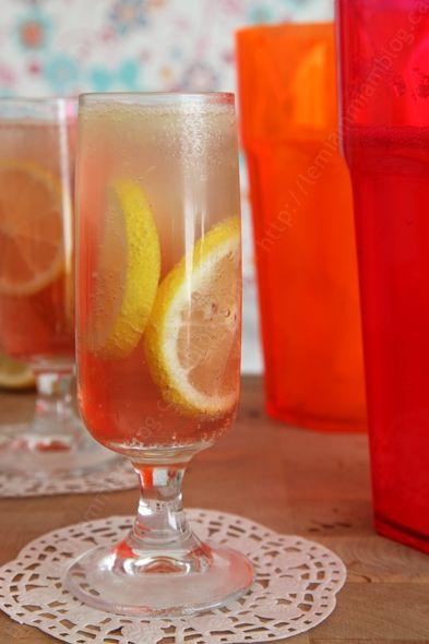 sunset limonade citron fleur d oranger cranberry 004 LE MIAM MIAM BLOG