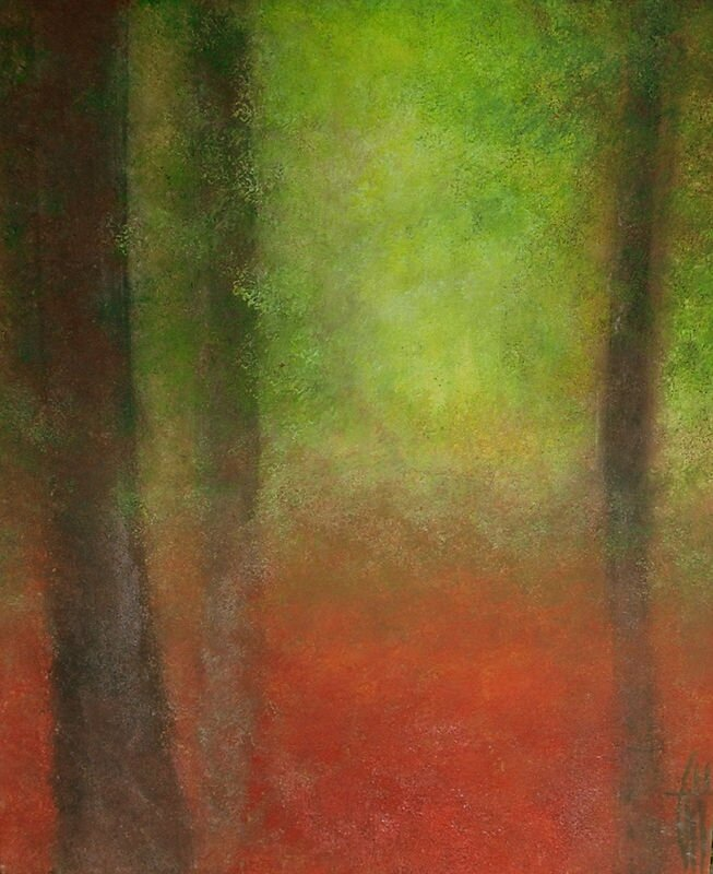 Abstract forest - Acrylique sur toile