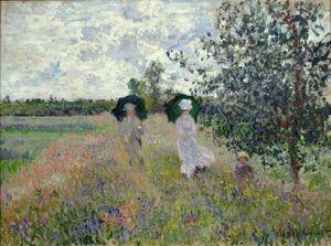 Promenade près d'Argenteuil - 1873