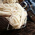 Wool & jeans