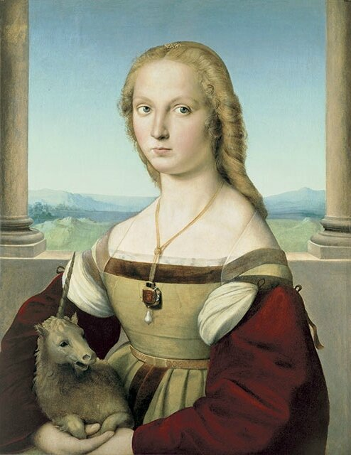 "Sublime Beauty: Raphael's ""Portrait of a Lady with a Unicorn"" to make U.S. debut in Cincinnati"