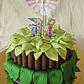 Gâteau zelda & link