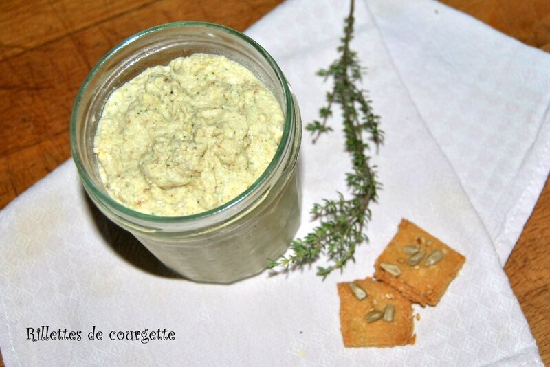 Rillettes de courgette